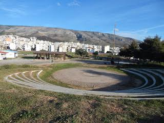 Halikaki amphitheatre CoWork.gr Athens Greece,office space for rent in Athens Centre Greece, executive office Athens Greece