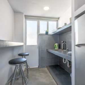 Kitchen coworking offices Athens Greece