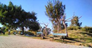 Halikaki square across from CoWork.gr Athens Greece
